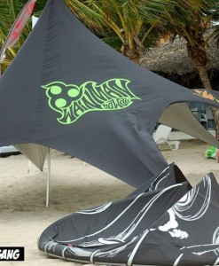 Star beach tent