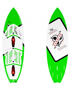 Surf board for kitesurfing
